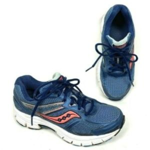 Saucony Cohesion 9 Blue Running Shoes Sneakers 6.5